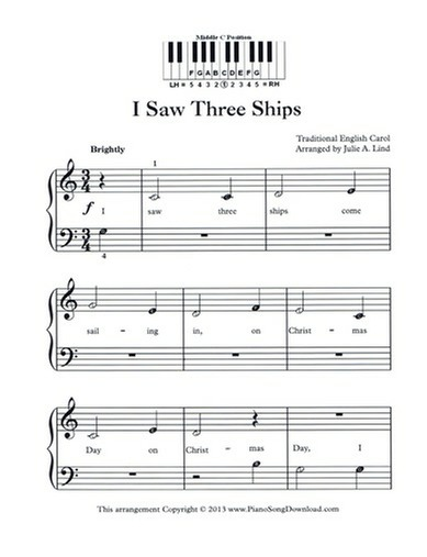 free christmas music pdf digital printable watch the piano tutorial - Free Christmas Piano Sheet Music