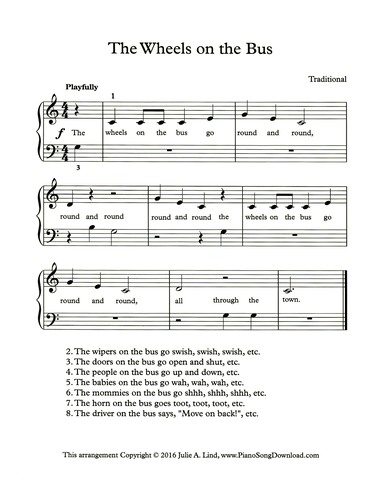 Free Sheet Music Pdf Digital Printable